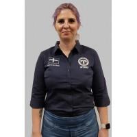 RTBU Women's Dress Shirt 3/4 Sleeve